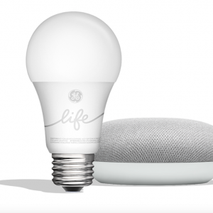 Google Home Mini with GE Smart Light